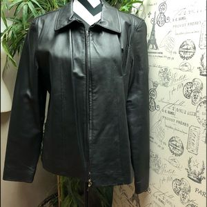 SILVER FOX PREMIUM LEATHER JACKET